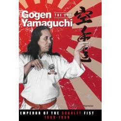Livro Gogen Yamaguchi (The Cat): Emperor of the Scarlet Fist 1909-1989, Inglês. Edição especial de Colecionador