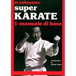 Livre SUPER KARATE, M.NAKAYAMA, Italien Vol.1