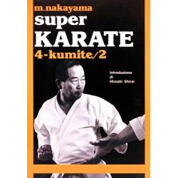 Livre SUPER KARATE, M.NAKAYAMA, Italien Vol.4