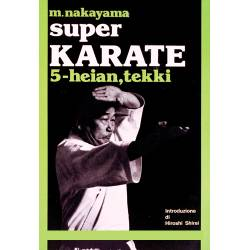 Book SUPER KARATE M.NAKAYAMA, italiano Vol.5