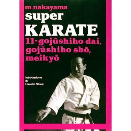 Livre SUPER KARATE, M.NAKAYAMA, Italien Vol.11