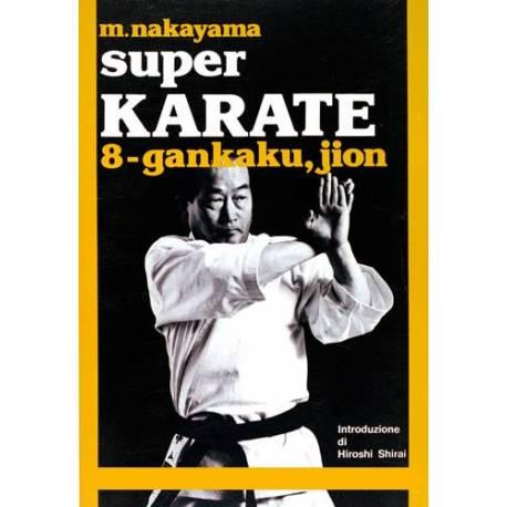 Livre SUPER KARATE, M.NAKAYAMA, Italien Vol.8