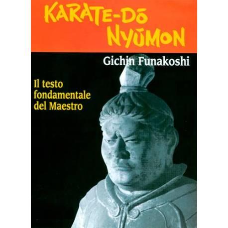 Livre KARATE-DO NYUMON du Maître G. FUNAKOSHI, italiano