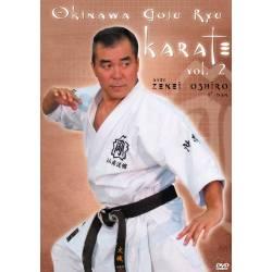 """DVD """"OKINAWA GOJU RYU KARATE"""", Zenei OSHIRO , VOL.2"""
