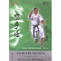 DVD Shotokan Kata, de Serge Chouraqui, VOL.3