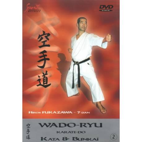 DVD Wado Ryu KATA & BUNKAI, Hiroji Fukazawa, VOL.2