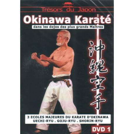 DVD Okinawa Karate Uechi ryu, Goju ryu, Shorin ryu, Volume 1