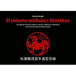 Libro El sistema estilístico Shotokan, Massimo Braglia, spagnolo
