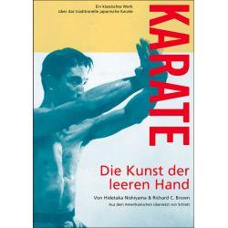 Libro KARATE - Die Kunst der leeren Hand del maestro Hidetaka NISHIYAMA, alemán