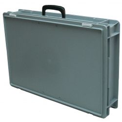 Carrying case for the electronic tabletop portable scoreboard for karate competitions