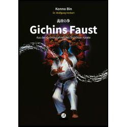Livre GICHINS FAUST Aus den Gründerjahren des Shôtôkan Karate, Konno Bin, allemagne