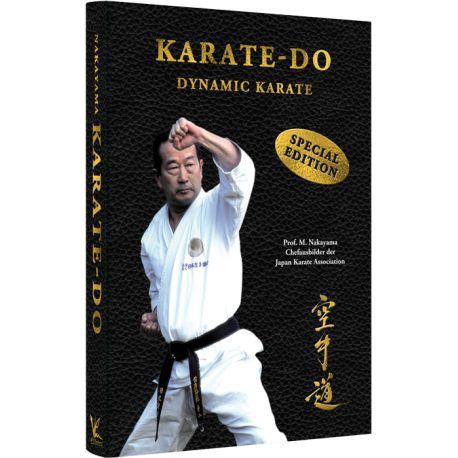 Libro Karate-Do DYNAMIC KARATE, Masatoshi NAKAYAMA, Hardcover, tedesco