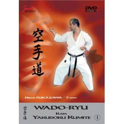 DVD Wado Ryu Kata YAKUSOKU KUMITE, Hiroji Fukazawa, VOL.1