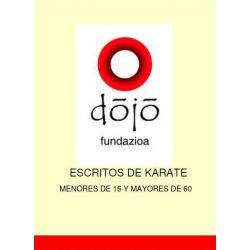 Book dojo fundazioa: MENORES DE 15 Y MAYORES DE 60, Félix Sáenz and others, spanish