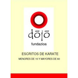 Livro dojo fundazioa: MENORES DE 15 Y MAYORES DE 60, Félix Sáenz et al., Espanhol