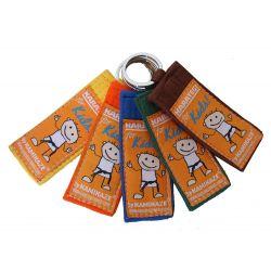 "Porte-clefs Kamikaze ""for KIDS"" kyu - ceinture couleur"