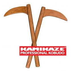 KAMA KAMIKAZE PROFESSIONAL KOBUDO en bois de hêtre, paire