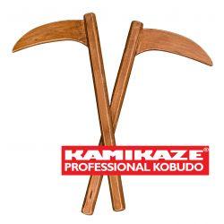 KAMA KAMIKAZE PROFESSIONAL KOBUDO realizzato in legno di faggio, coppia