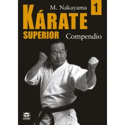 Book KARATE SUPERIOR M. NAKAYAMA, spanish Vol.1 Compendio