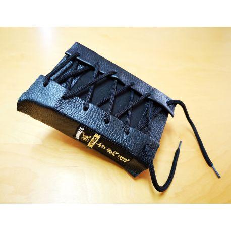 Makiwara punching pad KAMIKAZE PROFESSIONAL leather, black