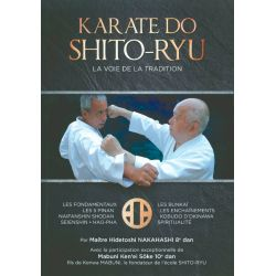 Book KARATE DO SHITO-RYU La voie de la Tradition, H. Nakahashi / K. Mabuni, french