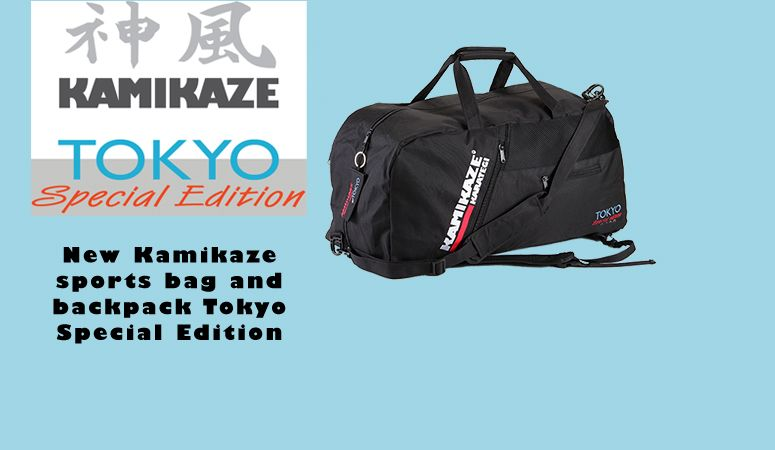 1917bd8843 Kamikaze sports bag and backpack Tokyo Special Edition 2020