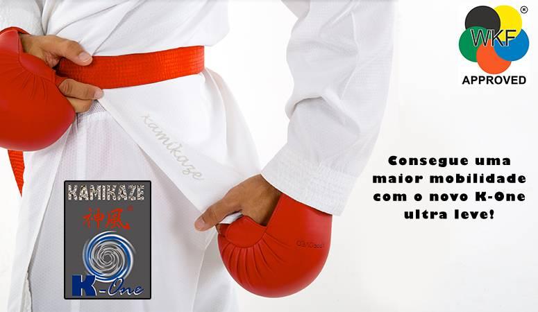 Karategi Kamikaze, model K-One-WKF