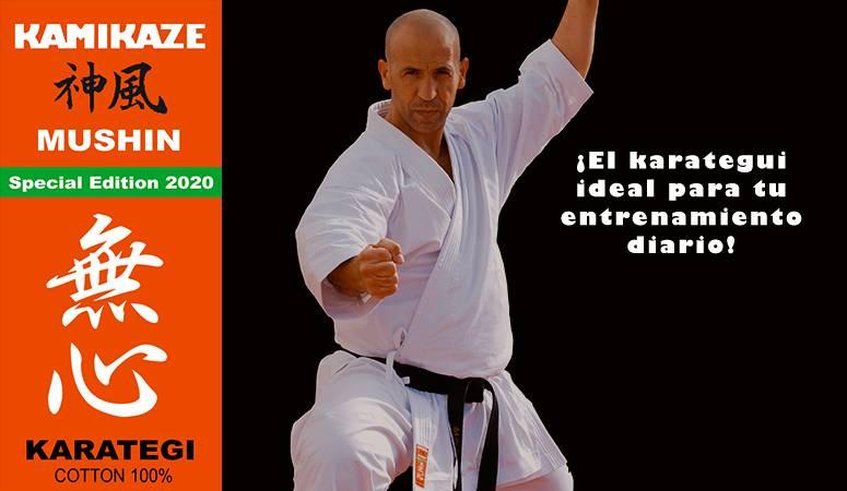 Karategui Kamikaze, modelo MUSHIN - Special Edition 2020