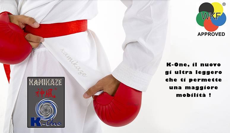 Karategi Kamikaze, modello K-One-WKF