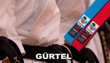 Karate-Gürtel von Kamikaze und Shureido