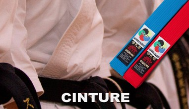 Cinture Karate Kamikaze e Shureido
